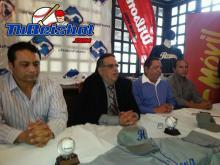 Guy Naccio, Wigberto Quintero y Lauren Flores